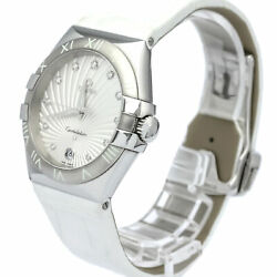 Pre-Loved Omega Stainless Steel Constellation Quartz Watch 123.13.35.60.52.001