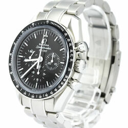 Pre-Loved Omega Stainless Steel Speedmaster 50th Anniversary Mechanical Watch
