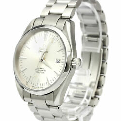 Pre-Loved Omega Stainless Steel Aqua Terra Co-Axial Automatic Watch 2503.30