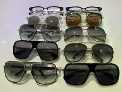Brand New Lot Of 10 Dita Sunglasses And Eyeglasses 100% Authentic Guaranteed Box