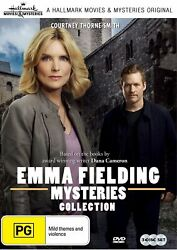 Emma Fielding Mysteries 3 Film Collection Region Free Dvd Hallmark Movies 1-3