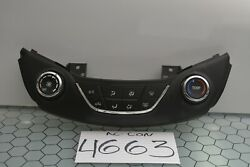 16 17 18 Chevy Cruze Ac And Heater Control Used Stock 4663-ac
