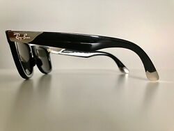 Ray-Ban Ultra Wayfarer RB 2157K 18K White Gold - Limited Production. Numbered.
