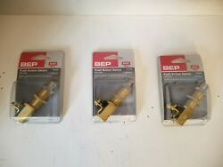 Lot Of 3 Bep Push Button Switch, Off-on, 6-36vdc, Spst, 1001505