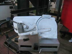 Automatic General 12 Electric Meat / Deli Slicer Cheese W/ Blade Sharpener