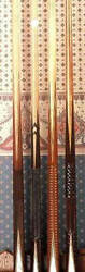 One of the world's finest ANTIQUE pool & billiard CUE collectionS 1400s to 1920s