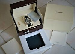 Longines Master Collection Chronograph Automatic Date L2.693.4 With Wooden Case