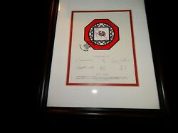 Framed Stamp,2002 Canada Signed Stamp And Numbered Sheet, Chinese New Year,horse