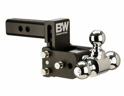 Bandw Tow And Stow 3 Drop 3-1/2 Rise 1-7/8 X 2-5/16 X 2 Size Tri-ball Mount
