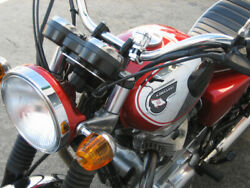 Made To Order W650/400 Tank Reviving W1s From Doremi Japan