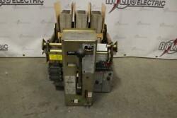 Allis Chalmers 600 Amp Low Voltage Air Circuit Breaker Mo Do 600v Static Trip Ii