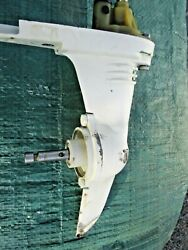 Johnson Evinrude Outboard 1.2hp 1.5hp 2hp Lower Unit Gearcase Gearbox Pump Water