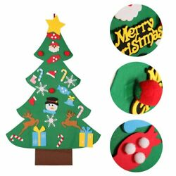 Kid DIY Felt Christmas Tree with Ornaments Children Christmas Gifts for 2018…