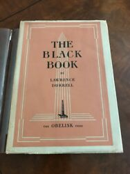 1st Edition- The Black Book - Lawrence Durrell, Paris Obelisk 1938,very Fine