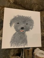 50 Shades Of Mr Gray  Painting  Art  Return Of Party Farm  Mt Hood  Dog