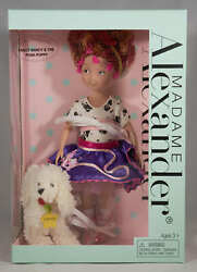 Madame Alexander Fancy Nancy And The Posh Puppy 9 Doll - New - Nrfb 47960