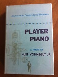 Player Piano By Kurt Vonnegut 1st Edition/first Print W/ Signed Bookplate Rare