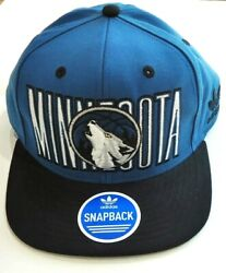 Adidas Nba Minnesota Timberwolves One Size Fits All Never Worn Hat Cap Excellent