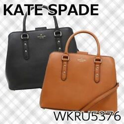 NWT Kate Spade Larchmont Avenue Evangelie Satchel Crossbody Leather Bag $379 $129.99