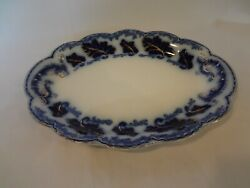 Johnson Brothers Normandy - Flow Blue - Small Oval Platter