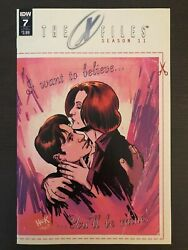 X-files Season 11 7 Valentines Day Card Variant 2015 2016 Idw Comic Book
