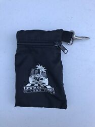 Vintage Toyota Grand Prix Of Long Beach Small Bag With Clip