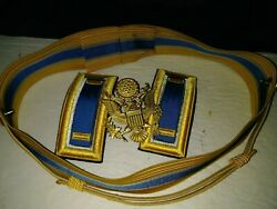 Us Army Military Officer Hat Badge Bands, Buttons