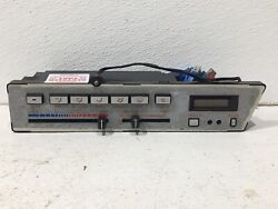1984-1986 Nissan 300zx Heater Ac Temperature Climate Control Switch Panel Oem