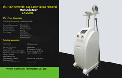 Hair Tattoo Removal Q Switched Nd Yag Laser Intense Pulsed Light Salon Machine