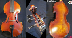 Baroque Style Song Concert Marster 5 String Viola 17 Perfect Sound 11671