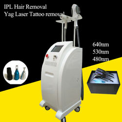 Nd Yag Laser Hair Removal 1064 Nm Laser Tattoo Removal Pigment Removal Machine