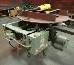 Chester Worm Drive Electric Hoist Wd 326 / 1000 Lb. Capacity / 460v / 20 Fpm