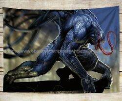 bohemian wall tapestry comics venom tapestry cloth poster