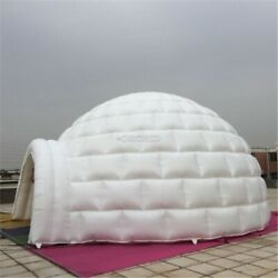 13ft 4m Inflatable Promotion Advertising Events Igloo Dome Tent 0.4pvc /blowe Ce