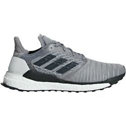 Mens Adidas Solar Boost Grey Athletic Support Running Shoes CQ3170 Sizes 12