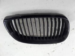Bmw 335i Right Kidney Grille Grill E92 07-10 Oem Hood