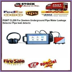 Pqwt Cl200 For 2meters Underground Pipe Water Leakage Detector Pipe Leak Detecto