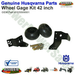 Husqvarna Wheel Gage Kit 42 Inch For Lawn Mowers And Tractors / 525509501