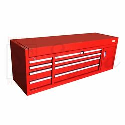 Sigma Red 72 In 12-drawer Steel Heavy-duty Top Tool Chest Box Storage Cabinet