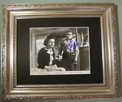 Patricia Neal Martin Sheen The Subject Was Roses Signed 8 X 10 Autographed Coa