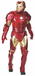 Iron Man Supreme Collector Marvel Fancy Dress Up Halloween Deluxe Adult Costume
