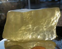 The Best Quality Libyan Desert Glass Gemstone, This Size And Price Online 136gm