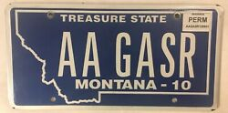 Yellowstone Park Vanity A Geyser License Plate Old Faithful National Hot Water