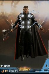 Hot Toys Mms474 Avengers Infinity War 16 Scale Collectible Thor Figure