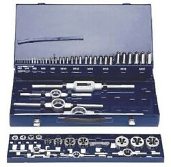 Eventus Cutting Tap And Die Set 52-pieces M3-m20 Square Stem High Speed Steel