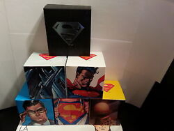 2013 Superman Coins 7 Coins Including A Gold Coin Selling As Set Only