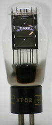 Vt52 Western Electric Mono Plate Tube Hanging 45 Ux245 345 50 2a3 300b Amp Valve