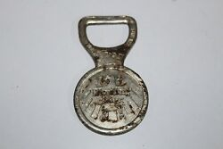 Old Antique Iron Hand Carved Binding Bier Bottle Opener Collectible