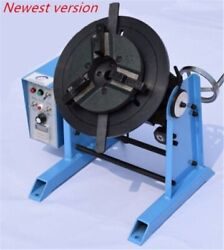 115rpm 30kg Duty Welding Positioner Turntable Timing With 200mm Chuck 220v Eu