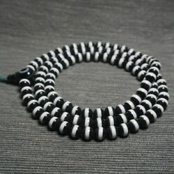 China Natural Handcarved Agate One Line Pharmacist 108pc Beads Bracelet 8mm